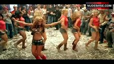 4. Jessica Simpson Sexy Dancing – These Boots Are Made For Walking