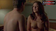 Hanna Hall Shows Naked Breasts – Masters Of Sex