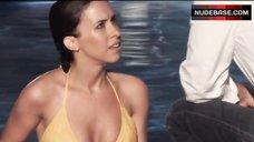 Lacey Chabert Wet in Bikini – Thirst