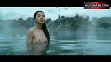 Sei Ashina Small Nude Boobs – Silk