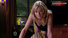 Yvonne Strahovski Crawling on Bed in Lingerie – Chuck
