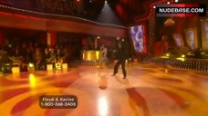 4. Karina Smirnoff Butt Crack – Dancing With The Stars