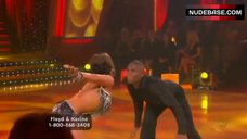 5. Karina Smirnoff Butt Crack – Dancing With The Stars