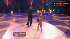 6. Karina Smirnoff Butt Crack – Dancing With The Stars