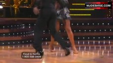 7. Karina Smirnoff Butt Crack – Dancing With The Stars
