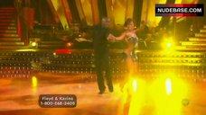 8. Karina Smirnoff Butt Crack – Dancing With The Stars