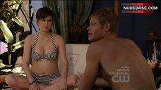 Jessica Stroup Sexy in Bikini – 90210