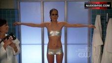 Jessica Stroup Bikini Scene – 90210