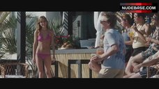 Jessica Stroup Hot in Bikini – The Informers