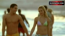Alona Tal Runs in Bikini – Cane