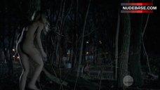 Laura Vandervoort Shows Nude Butt – Bitten