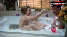 Molly Hagan Flashing Nipple in Bathtub – Love Shack