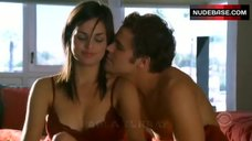 Lina Esco Hot in Red Bra and Panties – Cane
