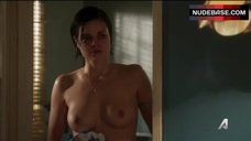 Lina Esco Topless after Shower – Kingdom