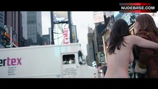 3. Lina Esco Running Topless on Street – Free The Nipple
