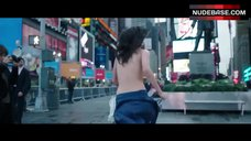 4. Lina Esco Running Topless on Street – Free The Nipple