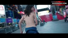 5. Lina Esco Running Topless on Street – Free The Nipple