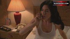3. Jaime Murray Nipples Through Top – Dexter