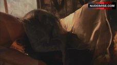 6. Jaime Murray Topless in Thong – Dexter