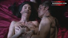 6. Jaime Murray After Sex – Dexter
