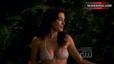 Sexy Jaime Murray in Bikini – Valentine