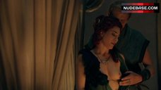 Jaime Murray Exposed Tits – Spartacus: Gods Of The Arena