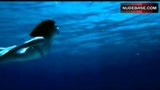 Julia Brendler Nude Underwater – Dolphins