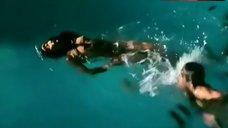 Christine Boisson Full Nude in Pool – La Femme Dangereuse