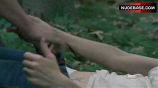 1. Sarah Wayne Callies Sex On Grass – The Walking Dead