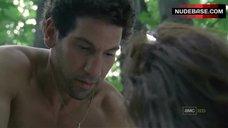 3. Sarah Wayne Callies Sex On Grass – The Walking Dead