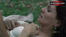 4. Sarah Wayne Callies Sex On Grass – The Walking Dead