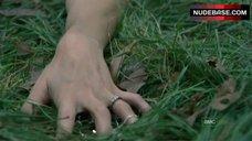 5. Sarah Wayne Callies Sex On Grass – The Walking Dead