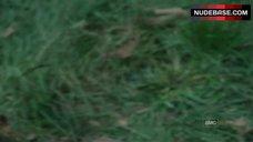 9. Sarah Wayne Callies Sex On Grass – The Walking Dead