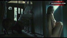 5. Sarah Wayne Callies Nude and Wet – Whisper