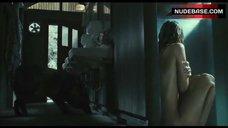 6. Sarah Wayne Callies Nude and Wet – Whisper