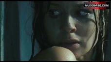 7. Sarah Wayne Callies Nude and Wet – Whisper