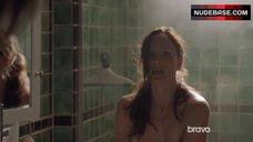 4. Sarah Wayne Callies Sex in Shower Room – Colony