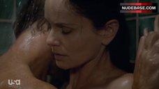 10. Sarah Wayne Callies Side Boob – Colony