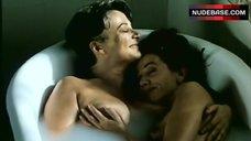 Victoria Abril Nude in Lesbian Scene – French Twist