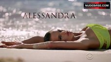 Alessandra Ambrosio Bikini Scene – The Victoria'S Secret Swim Special