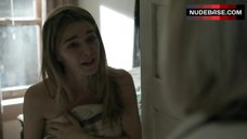 6. Bojana Novakovic Flashes Her Breasts – Shameless