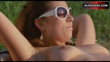 Vj Kewl Sunbathing Topless – Lake Placid 2
