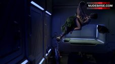 2. Kristen Hager Zero Gravity Sex  – The Expanse