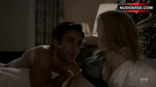 10. Gillian Alexy Hot in Sexy Lingerie – The Americans