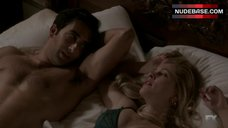 8. Gillian Alexy Hot in Sexy Lingerie – The Americans