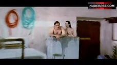Edwige Fenech Naked Tits – La Signora Gioca Bene A Scopa?