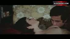 Edwige Fenech Lying Nude on Bed – Strip Nude For Your Killer