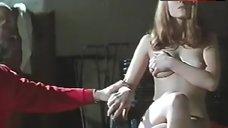 Julie Gayet Shows Breasts and Bush – A La Belle Etoile