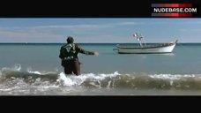 8. Julie Gayet Naked on Beach – Lovely Rita