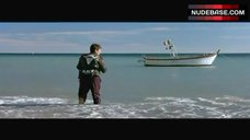 9. Julie Gayet Naked on Beach – Lovely Rita